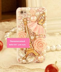 Ballet+Girl+Style++Pink+Phone+Case+Cover+For+by+TheMemoryStack,+$29.99