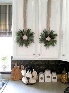 painting-kitchen-cabinets-windowsill-and-wreaths-snazzylittlethings-768x1024