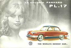 Panhard PL 17 ad