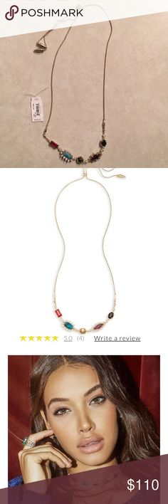 Kendra Scott - June Necklace - Multi Stone Multi Gem Color Mix adjustable June necklace from Winter 2017 collection  No trades Kendra Scott Jewelry Necklaces