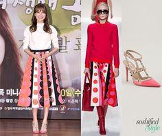 Sooyoung-Valentino skirt