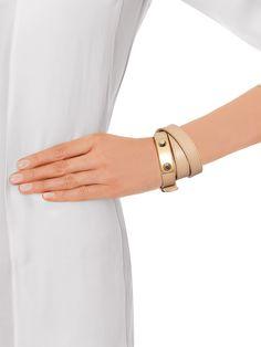 Stud wrap-around leather bracelet   Balenciaga   MATCHESFASHION.COM US