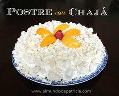 Postre Casi Chajá - El Mundo de Patricia