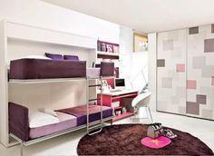 Dormitorios con Camas Literas Adolescentes