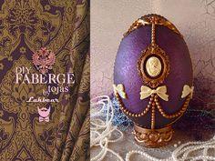 DIY Fabergé tojás polisztirolból - Lakbear