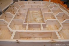 How to Build a Wooden Snack Stadium