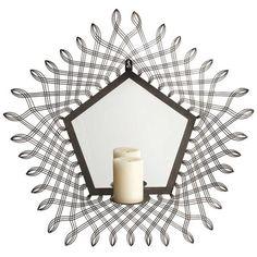 "Geometrique Wall Sconce 24"" $50 at Joss & Main"