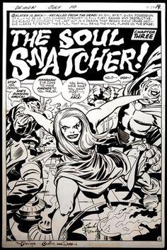 The Soul Snatcher! by Jack Kirby
