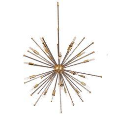 "A Custom ""Etoile'"" Designers Original Chandelier By: Lou Blass 1 Vintage Chandelier, Chandelier Pendant Lights, Modern Chandelier, Chandeliers, Contemporary Lamps, Cool Furniture, Color Pop, Mid-century Modern, Stud Earrings"