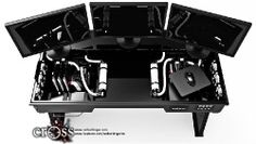 Red Harbinger Transforms Your Desk Into a Monster Gaming PC - Industry News - Overclockers Club