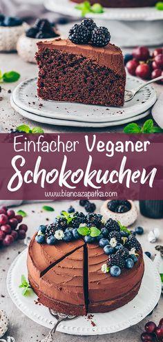 Best Vegan Chocolate, Decadent Chocolate Cake, Chocolate Recipes, Chocolate Frosting, Vegan Dessert Recipes, Vegan Sweets, Vegan Recepies, Vegan Food, Vegan Frosting