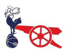 Arsenal vs Tottenham rivalry.