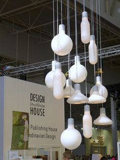Form Pendants by Form Us With Love for Design House Stockholm / DHS stand at the Maison&Objet fair in September 2013.