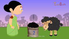 Baa Baa Black Sheep rhyme with Lyrics | New animated nursery rhyme