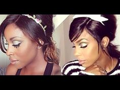 Kelly Rowland baby doll tutorial by Makeup Game On Point.