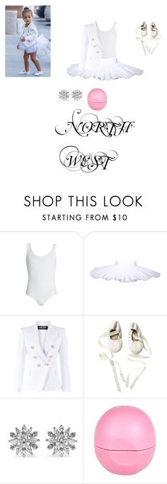 """""""north west"""" by jordyn-jw on Polyvore featuring Balmain, Kenneth Jay Lane, River Island, women's clothing, women's fashion, women, female, woman, misses and juniors"""