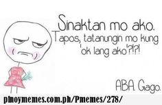 wag ka nang magtanong Tagalog Quotes, Hugot, Sad Love Quotes, Pinoy, It Hurts, Jokes, Math, Anime, Mathematics