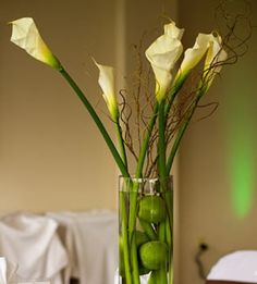 Calla Lily Wedding Centerpiece