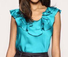 Loucas por moda: Blusas de Cetim