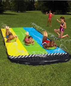 Take a look at this Slip N Slide Triple Racer by Wham-O on #zulily today!