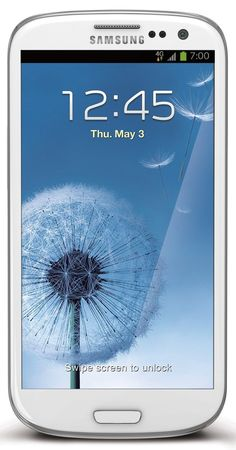 The Samsung Galaxy S3 White
