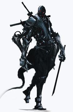 ArtStation - Four-Armed Ninja Robotics, Aaron Nakahara