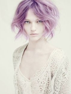650a598a6b Visit Coolspotters for celebrity hair colors and hair color ideas featuring  Sasha Pivovarova and Blond Hair.