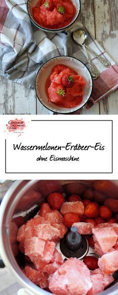 Wassermelonen-Erdbeer-Eis | Rezept