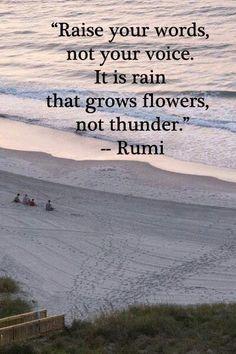 ~ Rumi