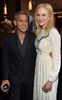 George Clooney and Nicole Kidman from 2017 Toronto Film Festival: Star Sightings Jason Sudeikis, Toronto Film Festival, George Clooney, Amal Clooney, Compare And Contrast, Entertainment Weekly, Keith Urban, Margot Robbie, International Film Festival