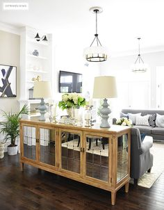 mirrored-buffet-mirrored-buffet-mirrored-buffet #mirroredbuffet Beautiful Homes of Instagram @citrineliving Home Bunch