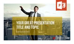 One picture says more than thousand words… use it! http://www.presentationload.com/powerpoint-title-slides.html