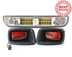 Halogen & LED Light Bar Kit for EZGO TXT Golf Carts | Easy installation | FREE SHIPPING! | NO TAX in 48 States! | Shop Today!