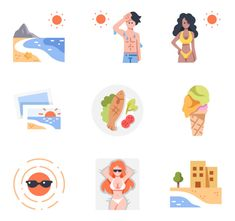 icon packs of travel