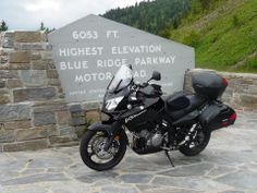 Did you get to go out riding over the weekend? Here's a picture Jim. N shared of his V-Strom at Blue Ridge Parkway, NC. Keep sharing pictures of your adventures on our page or at www.suzukistories.com! Blue Ridge Parkway, Pictures Of You, Weekend Is Over, Roads, Going Out, To Go, Adventure, Road Routes, Street