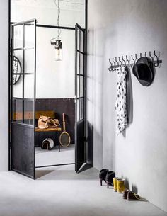 When homeowners first hear about the possibility of using barn doors as interior doors in their home, the initial image that springs to mind may be substantially different than the reality. Interior Barn Doors, Home Interior, Interior Styling, Interior And Exterior, Interior Decorating, Hallway Inspiration, Interior Inspiration, Küchen Design, House Design
