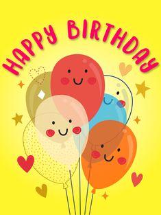 Birthday Congratulations, Happy Birthday Wishes Cards, Happy Wishes, Birthday Greeting Cards, Happy Birthdays, Art Birthday, Birthday Love, Birthday Images, Happy Birthday Woman