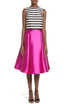 Soloiste+Striped+Midi+Two-Piece+Dress+available+at+#Nordstrom