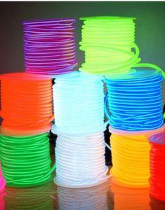 Lighting Strings 10m-100m Length Neon Rope Tube Strip Light Wire Flexible Fairy Lights Waterproof Sign Led For Diy Decoration Home Garden Decor Outdoor Lighting