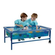 Clear-View Sand & Water Table & Top for Toddlers Constructive Playthings