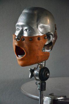 Vintage Dental Phantom Manikin Man Head Old Steampunk Industrial Dentist | eBay