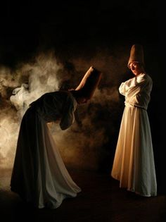 Muslim Sufi Whirling Dervishes