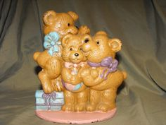 Vintage Door Stopper Cast Iron Three Bears by DeeSweetNostalgia, $24.99
