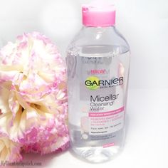 ♡ Garnier Micellar Cleansing Water ♡ I use this as a cleanser in the mornings, so much better than the toner I used to use.