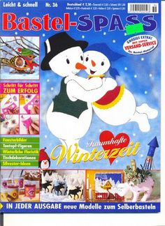 Bastelspass-Winterzeit - Angela Lakatos - Picasa Webalbumok Book Crafts, Craft Books, Painting Techniques, Crafts To Make, Techno, Projects To Try, Christmas Decorations, Fabric, Pattern
