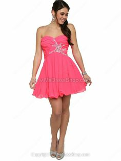 Shop the affordable A-line Sweetheart Chiffon Short/Mini Beading Homecoming Dresses from Formals collection that inspired by most covetable trends. Save your budget by purchasing your A-line Sweetheart Chiffon Short/Mini Beading Homecoming Dresses here! Party Dresses 2014, Grad Dresses, Event Dresses, Junior Dresses, Dance Dresses, Ball Dresses, Cheap Dresses, Homecoming Dresses, Casual Dresses
