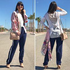 Sporty chic - Temporada: Primavera-Verano - Tags: look, ootd, fashion, moda, streetstyle, blogger - Descripción: look en clave sport chic de la tienda klz burriana #FashionOlé