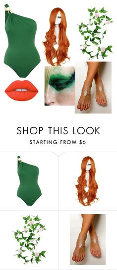"""Untitled #3"" by jaelynzimmerman ❤ liked on Polyvore featuring Água de Coco and Lime Crime"