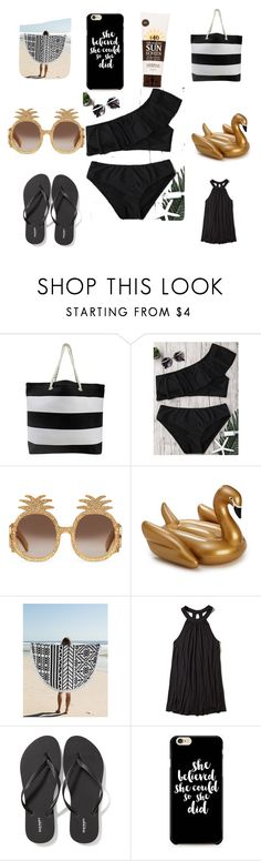 """""""-Pressli"""" by presslimorg ❤ liked on Polyvore featuring Gucci, Holly's House, Hollister Co., Old Navy, Caso and Lavanila"""