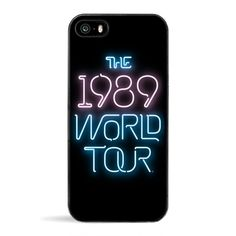 Black The 1989 World Tour Phone Case 5 (143265 PYG) ❤ liked on Polyvore featuring accessories, tech accessories, phone cases, phones and electronics